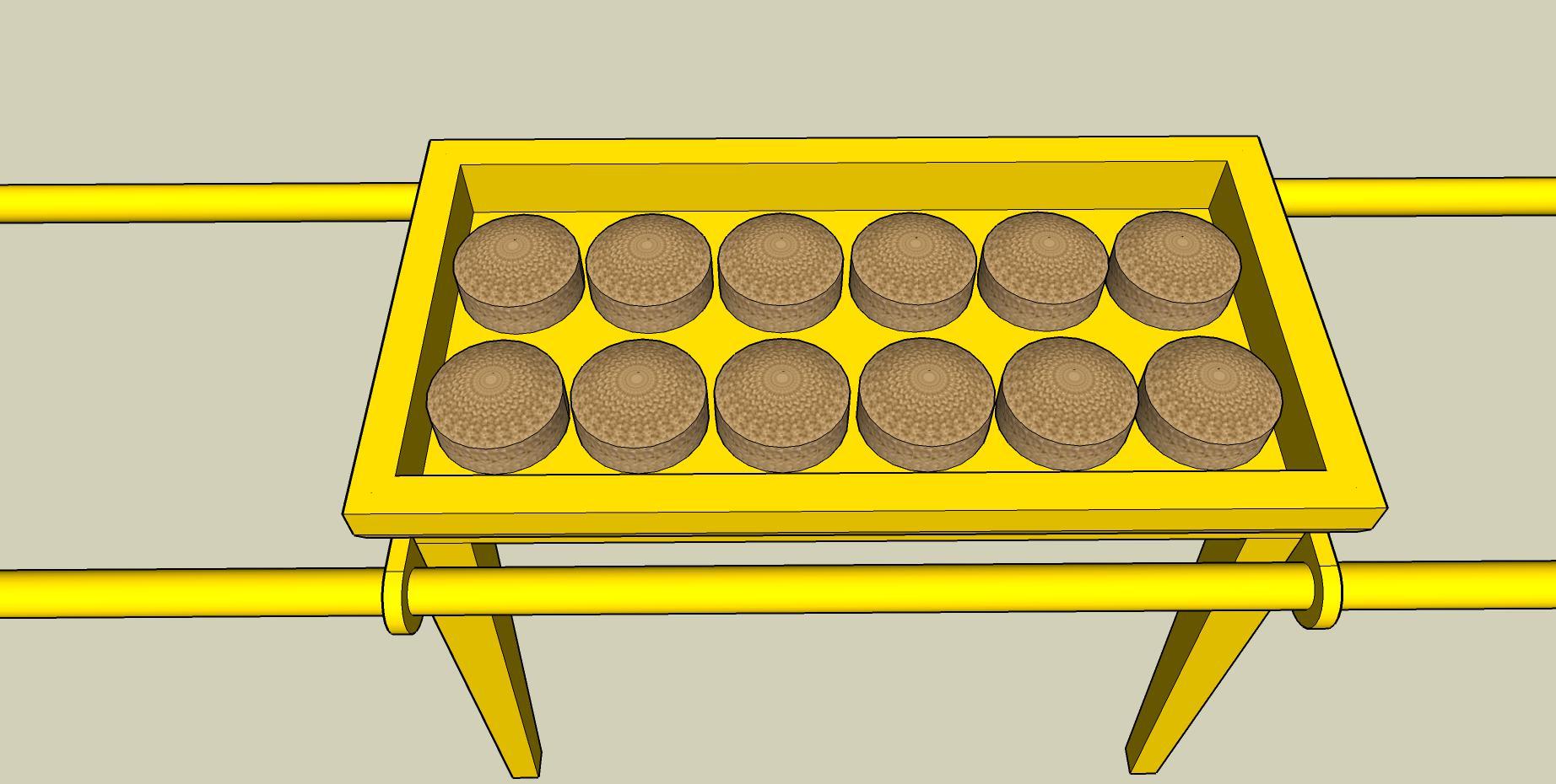 La table des pains de proposition ces pains repr sentent - La table des merville castanet ...